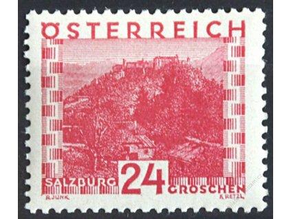 1929, 24g Pevnost, MiNr.504, **