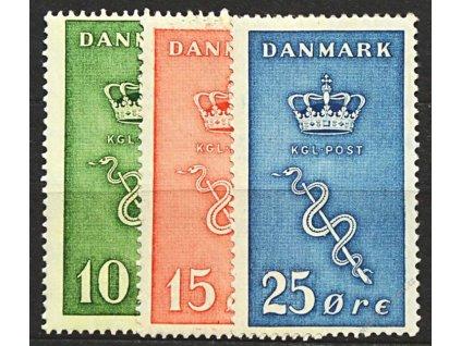1929, 10-25Q série, MiNr.177-79, * po nálepce