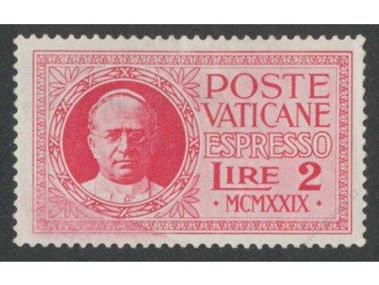 1929, 2L Spěšná, MiNr.14, * po nálepce