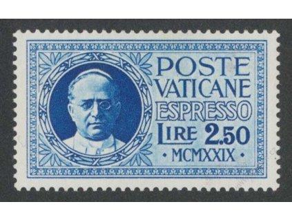 1929, 2.50L Spěšná, MiNr.15, * po nálepce