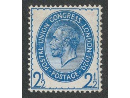 1929, 2 1/2P Kongres, MiNr.173X, * po nálepce