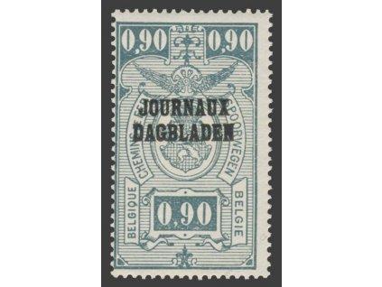 1929, 90C Zeitungspaketmarken, ** , výrobní faldy