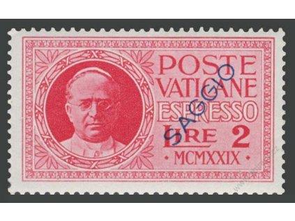 1929, 2L Spěšná, přetisk SAGGIO, MiNr.14, **