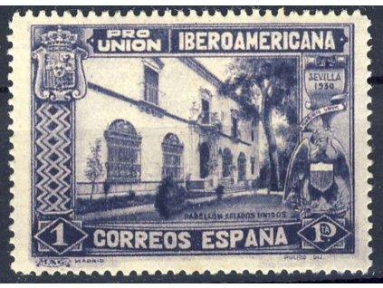 1930, 1Pta Výstavní hala, MiNr.549, **