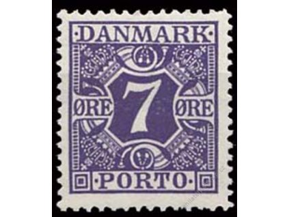 1930, 7Q doplatní, MiNr.21, **