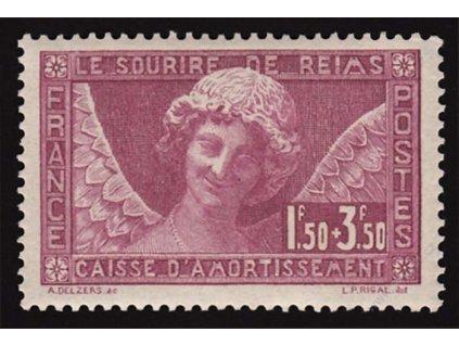 1930, 1.50Fr Katedrála, MiNr.248, ** , dvl