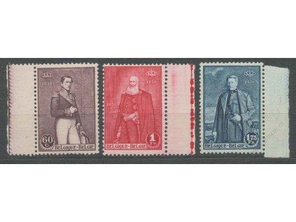 1930, 60C-1.75Fr série Králové, MiNr.284-86, **