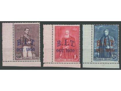 1930, 60C-1.75Fr série, MiNr.288-90, **