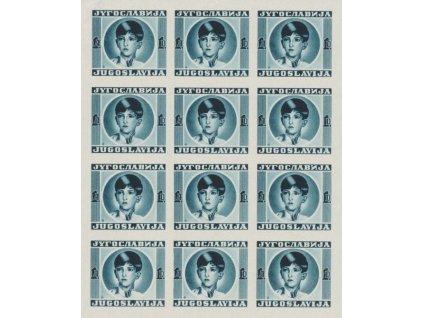 193?, 1D Car Petr, návrh známky, (*) , PL, zeslabené okraje