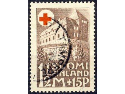 1931, 1 1/2M Červený kříž, MiNr.165, razítkované