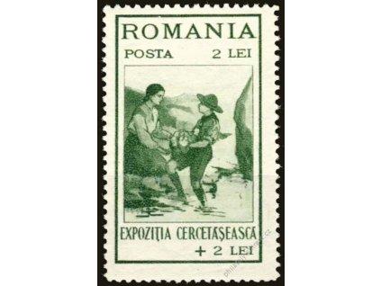 1931, 2L Skauting, MiNr.414, **
