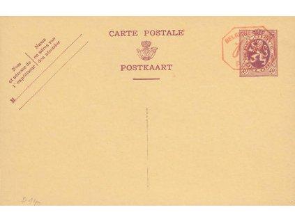 1931, dopisnice MiNr.P140, neprošlé