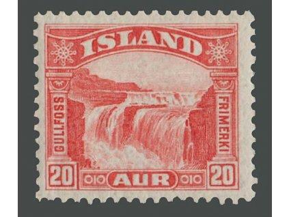 1931, 20A Vodopád, MiNr.151, **