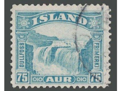 1931, 75A Vodopád, MiNr.155, razítkované