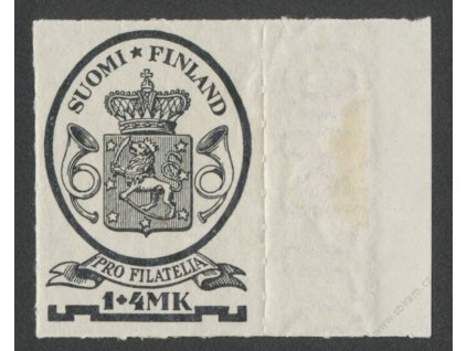 1931, 1(M) + 4M černá, MiNr.169, **