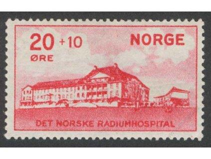 1931, 20Q Hospital, MiNr.162, * po nálepce