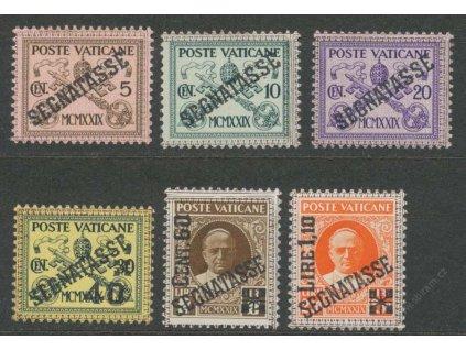 1931, 5C-1.10L/2.50L doplatní série, */**