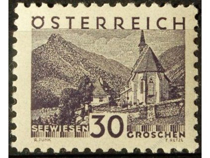 1932, 30g Seewiesen, MiNr.536, ** , dvl