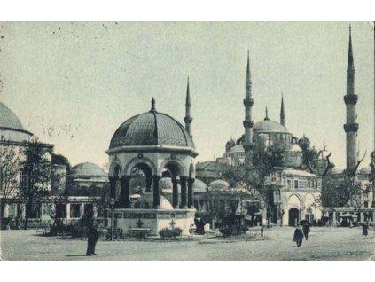 1932, DR Istambul, pohlednice zaslaná do Prahy