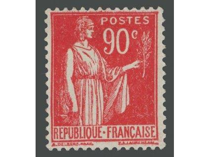 1932, 90C Alegorie, MiNr.279, * po nálepce