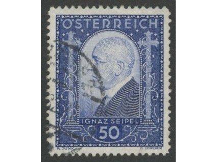 1932, 50g Seipel, MiNr.544, razítkované