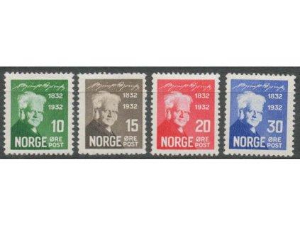 1932, 10-30Q série Bjornson, MiNr.163-66, **