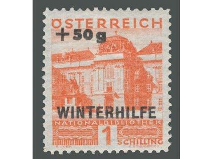 1933, 1S Winterhilfe, MiNr.566, * po nálepce