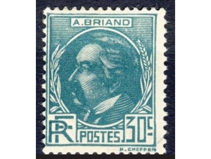 1933, 30C Briard, MiNr.287, těžší *