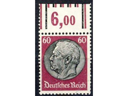 1933, 40Pf Hindenburg, MiNr.526, ** , kraj. kus