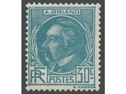 1933, 30C Briard, MiNr.287, * po nálepce
