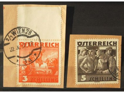 1934, 3 a 5S Pracující, 2 malé výstřižky