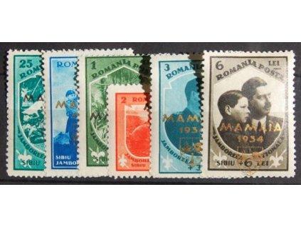1934, 25B-6L série Mamaia 1934, * po nálepce