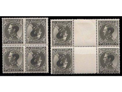 1934, 70C Albert, spojky, Nr.K16,KZ16, **/*
