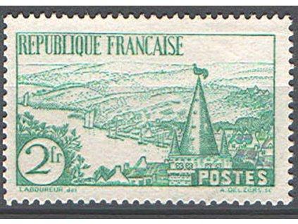 1935, 2Fr Výjevy, MiNr.296, * po nálepce