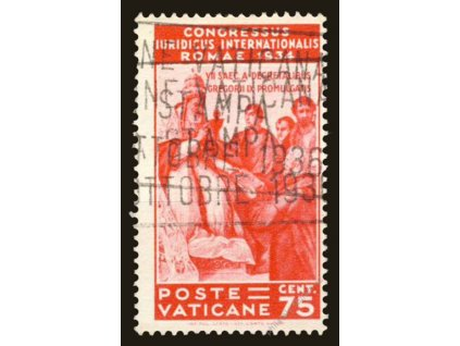 1935, 75C Kongres, MiNr.48, razítkované