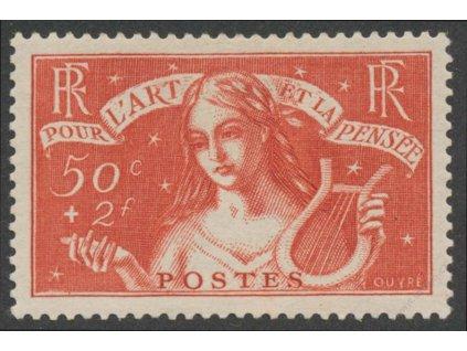 1935, 50C Musica, MiNr.304, * po nálepce