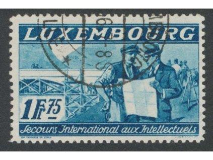 1935, 1.75Fr Intelektuálové, MiNr.275, razítkované