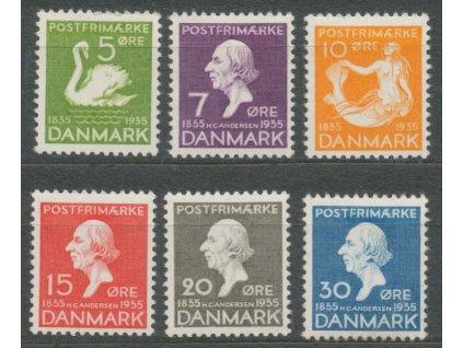 1935, 5-30Q série, MiNr.222-27, **/*