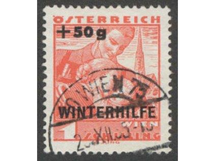 1935, 1S Winterhilfe, MiNr.616, razítkované