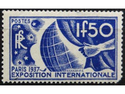 1936, 1.50Fr Světová vystava, **
