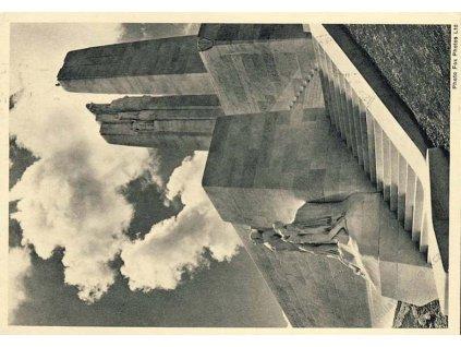 1936, DR Vimy-France, celinová pohlednice