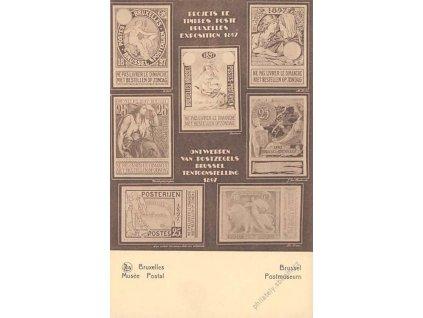 1936, Musee Postall, celinová pohlednice, neprošlé