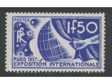 1936, 1.50Fr Výstavní, MiNr.333, **