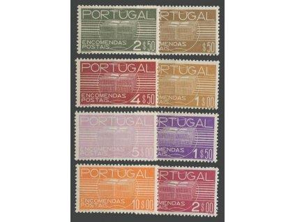 1936, 0.50-10E série Paketmarken, ** , faldy