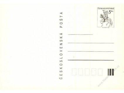 CDV 237A Postilion na koni (II)