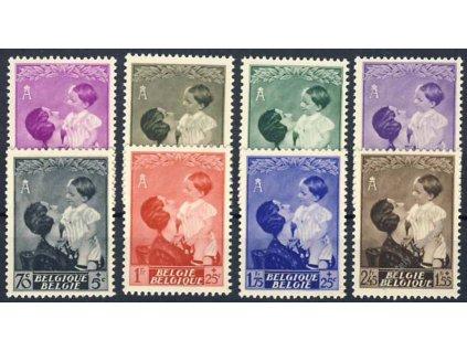1937, 10C-2.45Fr série Královna Astrid, **/*