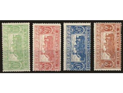 1937, 10C, 20C, 50C a 2Fr Postpaketmarken, *