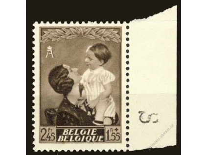 1937, 2.45Fr Astrid, MiNr.450, **