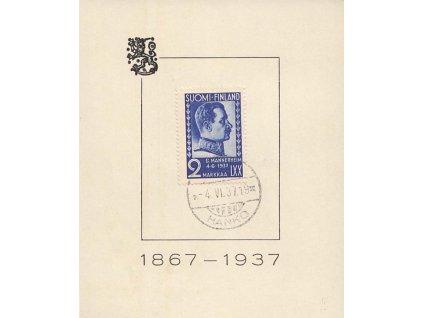 1937, 2M Freiherr, FDC, pamětní list, pohl. formát