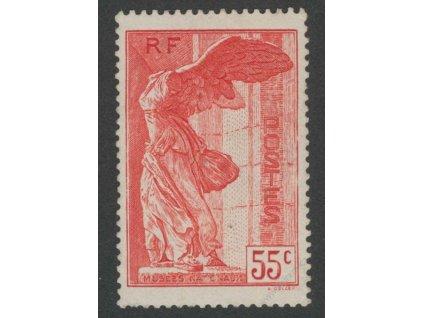 1937, 55C Národní museum, * po nálepce, dv